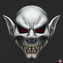 vampire mask - death skull mask - devil mask - halloween cosplay 3d print model props & cosplay death-mask devil-mask hannya-mask halloween-mask halloween-cosplay skull-mask marvel-cosplay horror-mask terrible-mask marvel-mask vampire-mask darcula-mask morbius-mask morbius-cosplay morbius-toys vampire-halloween darcula-halloween