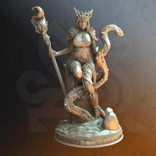 rheda revered - elven druid toys & games elf fantasy female forest nature caster spirit dnd druid