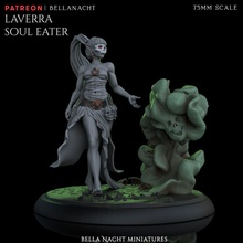 laverra - pre supported toys & games dark female woman witch evil supports witches necromancer voodoo presupport pre