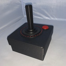 xl retro joystick box & garden holder box container gaming lid  retro school stick joy oldschool joystick gamers xl