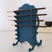 decorative brush rack katana v2 education holder brush miniatures stand painting rack paint brushes brushholder