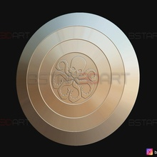 octopus shield - barbariant shield - weapon cosplay shield viking weapon cosplay octopus marvel-comics shield-cosplay super-heroes barbariant captain-shield cap-shield captain-america-shiled hydra-shield hail-hydra-shield captain-hydra-shield