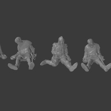 dead soldiers v2 toys & games dragons dungeons games miniatures roleplay figures tabletop 28mm pathfinder