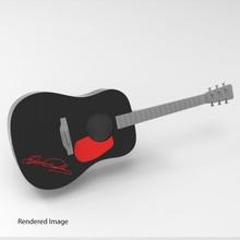 guitar d28 education fdm guitar prop small speaker cosplay miniature sla custom base elvis digital string presley acustic