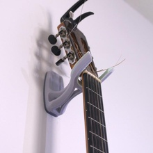 guitar wall mount hanger flexible education bass guitar hanger mount wall flexible grip ukelele