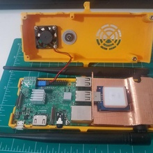 slim stratux case gadgets & electronics case aviation stratux ads-b