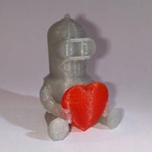 san valentino amore bender fan art baby amore futurama san valentino bender americano dualprint sitcom