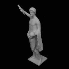 statua adriano museo dell'ermitage san pietroburgo scansione
