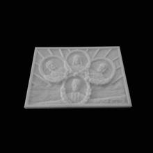 relevo representando horea closca crisan iancu deva roménia scan