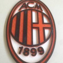 milan logo fan art football logo milan