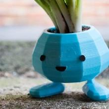 oddish plantador snap pernas jardim planta pokemon plantadeira plantas plantio oddish vaso planta pokemon figuras