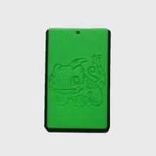 pokemon bulbasaur titular tarjeta crédito tarjeta bus caja tarjeta llavero moda accesorios llavero pokemon