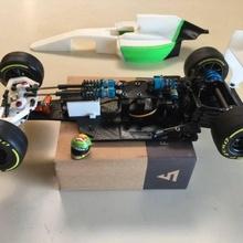 rs 01 version openrc f1 entièrement réglable suspension course châssis gadgets l'électronique rc openrc rs 01 suspension