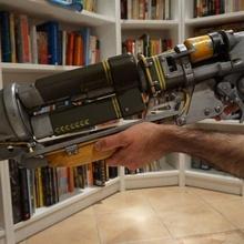 fallout 4 otomatik lazer tüfeği sahne cosplay fallout lazer fallout4 bethesda laserrifle automaticlaserrifle