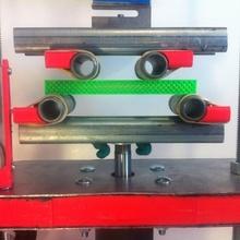 4 punto curvatura campione apparecchiatura prova costruire stampante 3d testfixture bendspecimen 4pointbend 100 tamponamento 100 acciaio acciaio