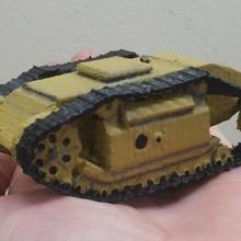 goliath sdkfz 302 tank izlenir masa üstü model ölçek tank 2 Dünya Savaşı İkinci Dünya Savaşı