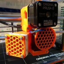 noctua fan cover 40mmx40mm prusa i3 mk2 build 3d printer