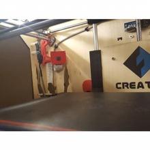 Escorpião espião framboesa Câmera suporte 3d impressão ctc flashforge Construir 3d impressora Câmera flashforge 3d impressora replicador Câmera monte porta câmera Câmera adaptador impressora ctc