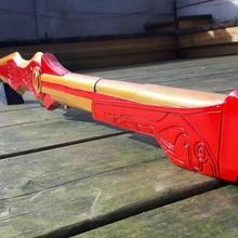 pirrha milo espada adereços cosplay suporte espada arma cosplay rwby dente galo pirrha