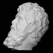cabeça septimius Severus Varredura cabeça mármore septimius Severus