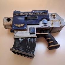 wh40k ultramarine bolt pistole props & cosplay bolt pistol warhammer40k ultramarines adeptusastartes spacemarines