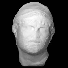 head philip spain scan head king roman sculpture marble spain philip
