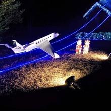 Gulfstream g650 plano pacote escala modelo brinquedos jogos avião jato g650 Gulfstream Lawndart