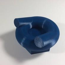 rosquinha rosquinha cadeira jardim Comida design básico interior