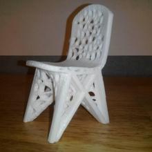 vespa Voronoi cadeira jardim cadeira Projeto Voronoi vespa 3mt gigantedelta wasp3mt