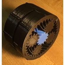 epicíclico planetario engranaje caja 37 1 493 1 nema 17 hardware artilugio electrónica engranajes hardware robot abierto Imprimible 3d brazo diferencial manejar planetario reductor engranajes hardware 37