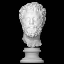 retrato septimius Severus Varredura fracasso homem