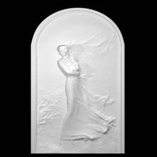 raffica vento funerario monumento Giulia schanabl rossi scansione donna fullbody