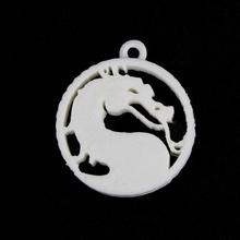 mortal kombat catena chiave logo fan art logo chiave catena mortal kombat anello per chiavi