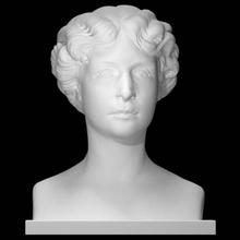 Principessa Giulia gangi scansione ritratto donna