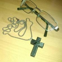 crucifeye mode accessoires cool chaîne traverser fonctionnel hip intelligent pendentif bandit gangsta