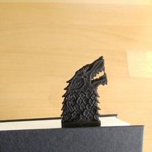 direwolf sword bookmark - game thrones - house stark fan art sword bookmark stark  direwolf bookmarks game thrones house stark