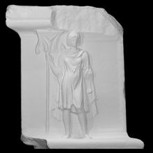 sollievo province braccio trofeo Adriano tempio scansione architettura donna monumento sollievo metà corpo