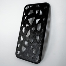 iphone 7 voronoi textura caso funda artilugio electrónica caso funda cubierta carcasa funda diseño teléfono