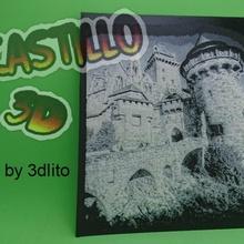 castillo 3d fan art terror castillo dibujo foto imagen 3d
