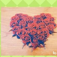 drawing 3d roses fan art amor drawing heart love roses love corazon 3dlito dibujo image3d rosas