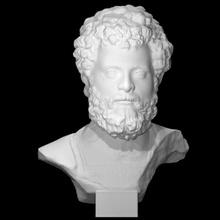 fracasso imperador septimius Severus Varredura fracasso retrato imperador