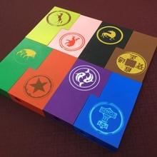 guadaña unidad cajas jardín juego mesa