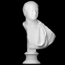 ritratto personaggio età Adriano scansione testa ritratto