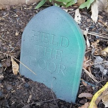 alas poor hodor knew ye hodor fan art decoration funny halloween grave dead gameofthrones  joke spoiler hodor tombstone winterfell thenorth