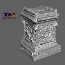 romano mármore plinto Varredura plinto