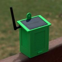 solare alimentato Wi Fi metereologico stazione gadget elettronica Fai mini solare energia Wi Fi stazione pro metereologico umidità esp8266 pressione temperatura wemos blynk