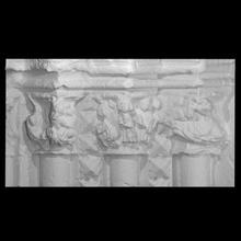 capiteles Papa Noel mar brihuega escanear medieval capitales capiteles