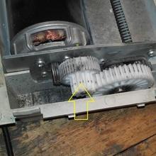 Ingranaggio trituratore ricambio parti pezzi ricambio dahle20112 distruggidocumenti