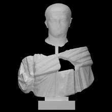 Severus Alexandre Varredura fracasso retrato romano imperador fragmentos Severusalexander