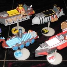aeronaves juego mesa guadaña tablero juegos gótico Embarcacion steampunk guadaña dirigible windgambit barco volador